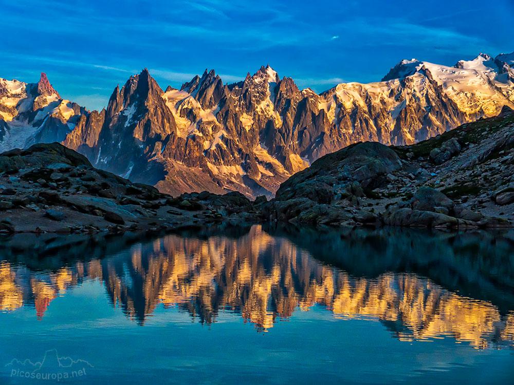 Fotos y Rutas: Lac Blanc, Reserva Natural de las Aiguilles Rouges, Chamonix, Alpes, Francia