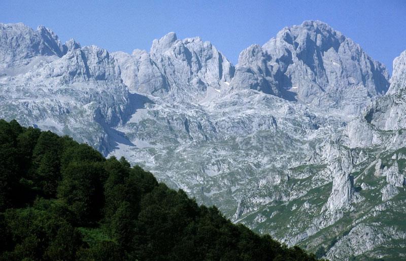 Peña Santa desde Vegabaño, Sajambre, Picos de Europa, León