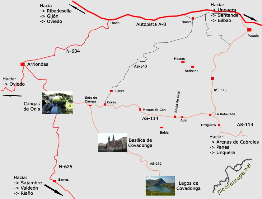 Lagos De Covadonga Picos De Europa Valle De Covadonga