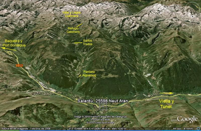 Panor mica de los lagos de colomers valle de aran lleida - Inmobiliaria valle de aran ...