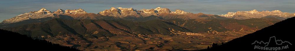 Fotos y ruta de Peña Oroel, Pre Pirineos de Huesca, Aragón