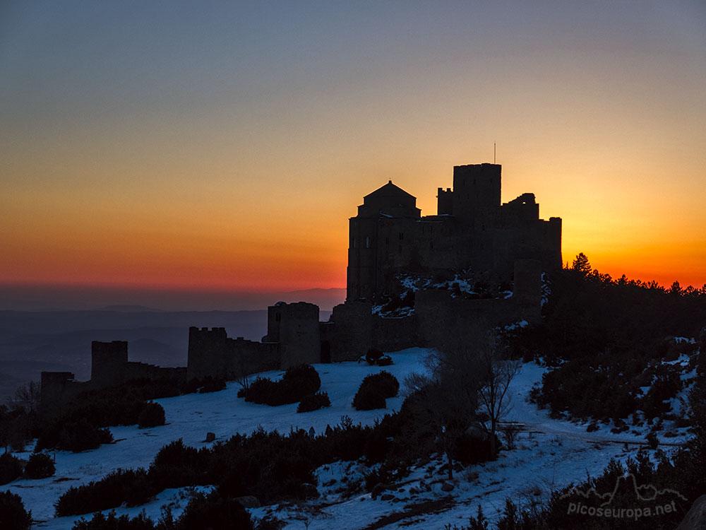 Fotos y Rutas: Castillo de Loarre y Pico Puchilibro, Pre Pirineos de Huesca, Aragón, España